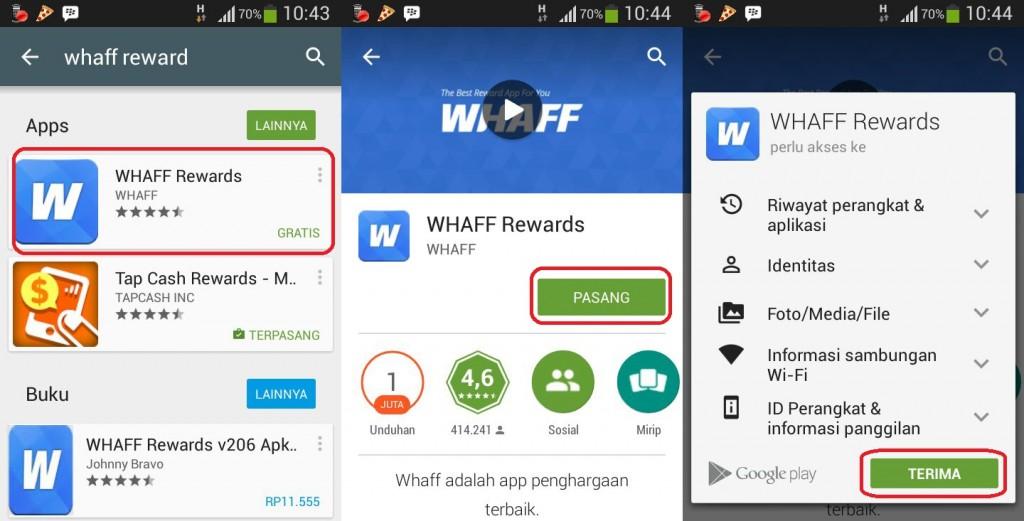 Kode Whaff Reward AF01524