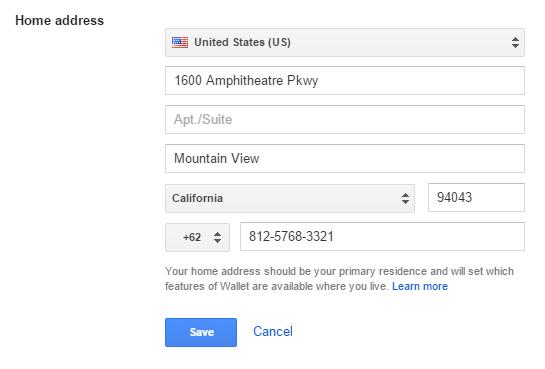 home-address
