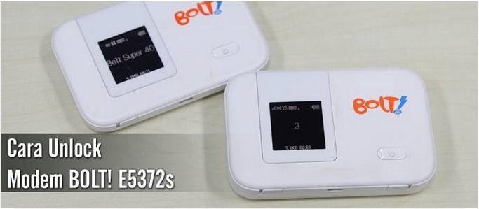 Unlock Modem Bolt Huawei E5372S