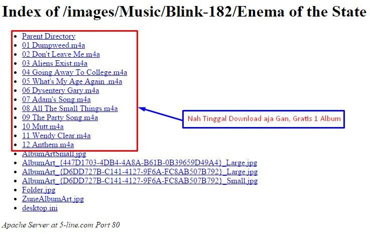 i Album Blink
