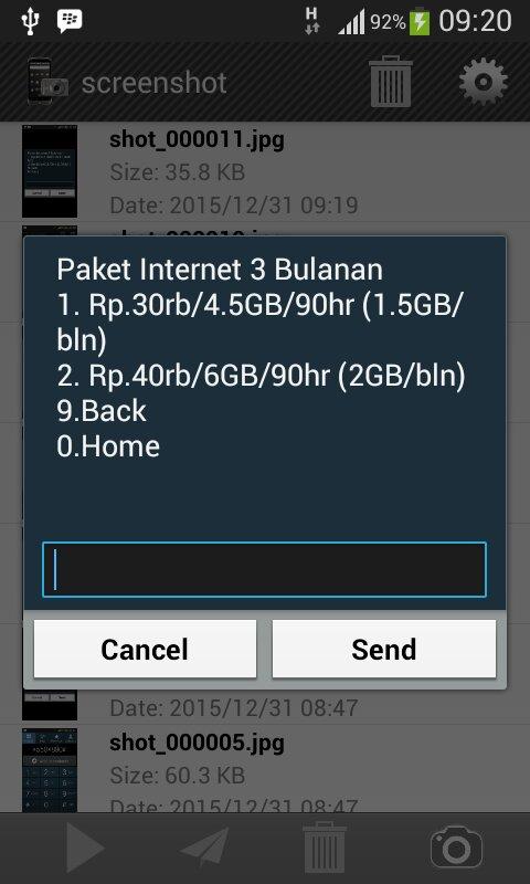 Paket Internet 3 Bulan