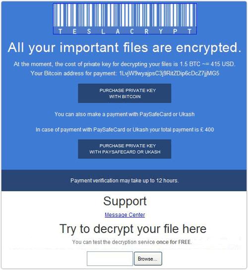 teslacrypt-payment-interface