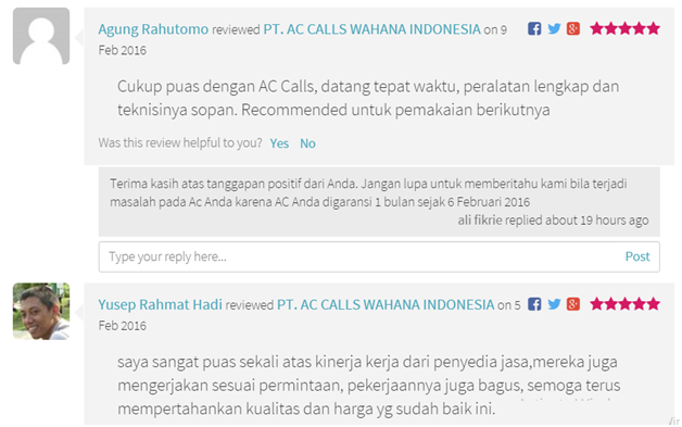 review AC