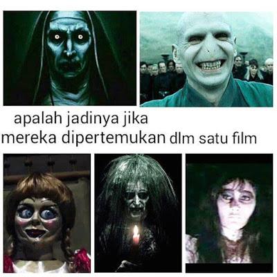 meme lucu valak the conjuring 10