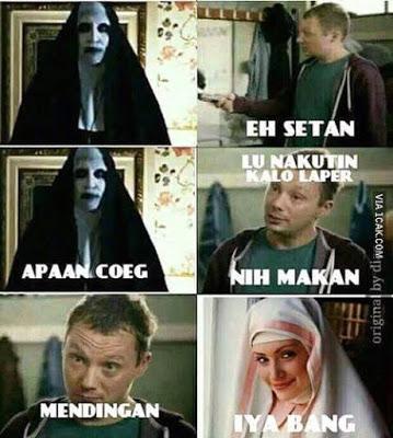 meme lucu valak the conjuring 11