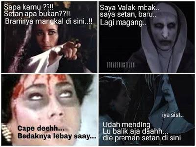 meme lucu valak the conjuring 15