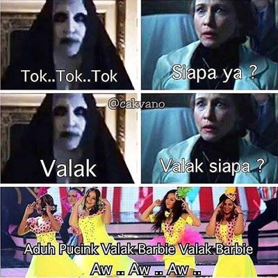 meme lucu valak the conjuring 24