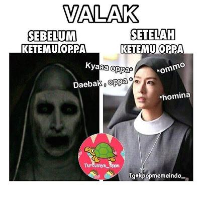 meme lucu valak the conjuring 25
