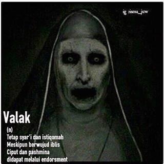 meme lucu valak the conjuring 27