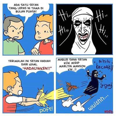meme lucu valak the conjuring 40