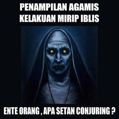 meme lucu valak the conjuring 43