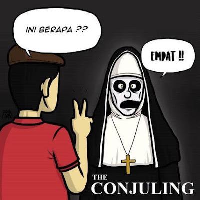 meme lucu valak the conjuring 44