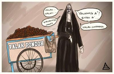meme lucu valak the conjuring 45