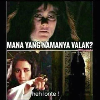 meme lucu valak the conjuring 5