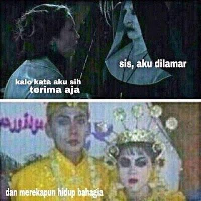 meme lucu valak the conjuring 6